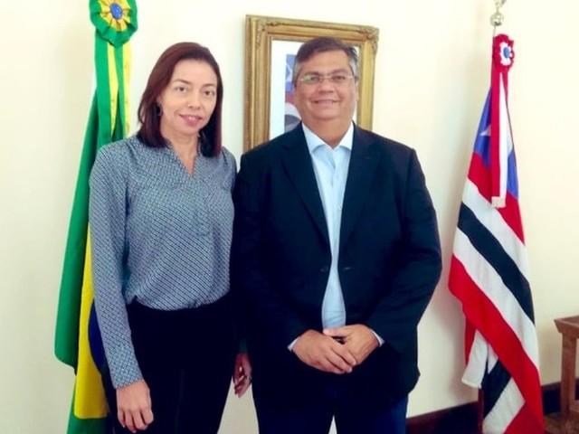 Flávio Dino anuncia Adaltina Queiroga para presidência do VIVA/Procon