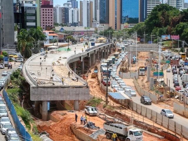 Trânsito e transporte público na Av. ACM passarão por alterações esta semana