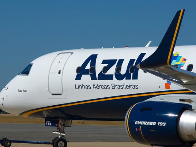 Azul aumentará voos entre Vitória da Conquista e Salvador