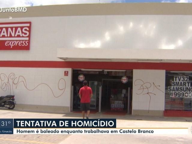 Funcionário de loja é baleado enquanto fazia limpeza do estabelecimento em Salvador