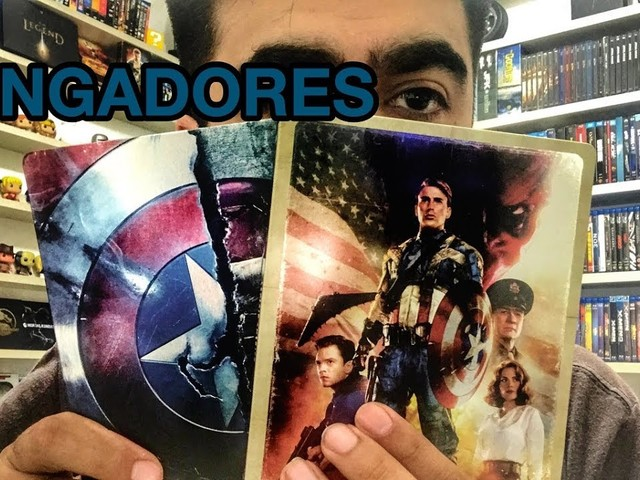 VÍDEO | VINGADORES em SteelBook – Edições NACIONAIS e IMPORTADAS