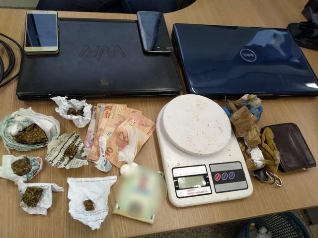Duas pessoas são presas por suspeita de tráfico de drogas em Ji-Paraná, RO