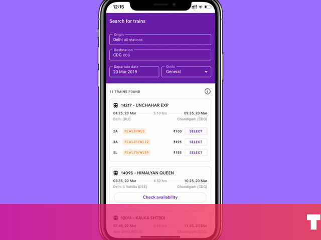 How to book train tickets in India straight from the Google Pay app