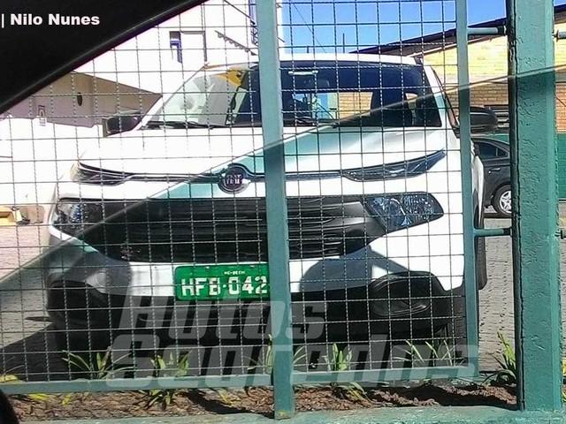 Flagra: Fiat Toro 1.8 manual está em testes de partida à frio no Sul