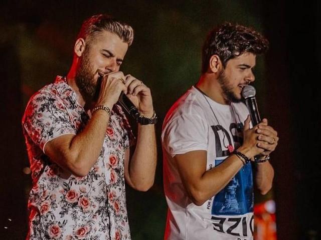 Cristiano, da dupla com Zé Neto, tem mal-estar durante show no Baile da Santinha em Salvador