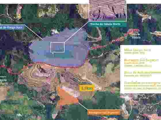 Nível máximo de alerta | Talude de mina da Vale em Barão de Cocais (MG) pode se romper a partir de hoje