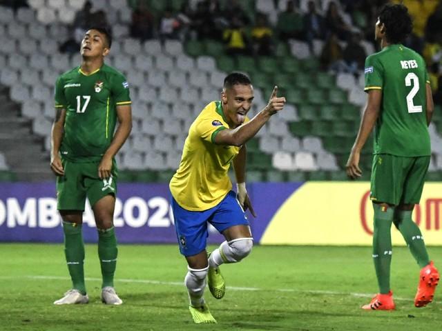 Acompanhe as fotos de Brasil e Bolívia pelo torneio Pré-Olímpico