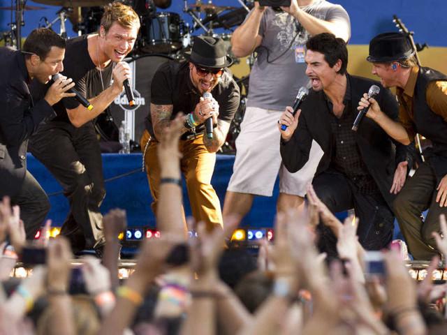 Quarentões, Backstreet Boys e Spice Girls ensaiam revival dos anos 1990