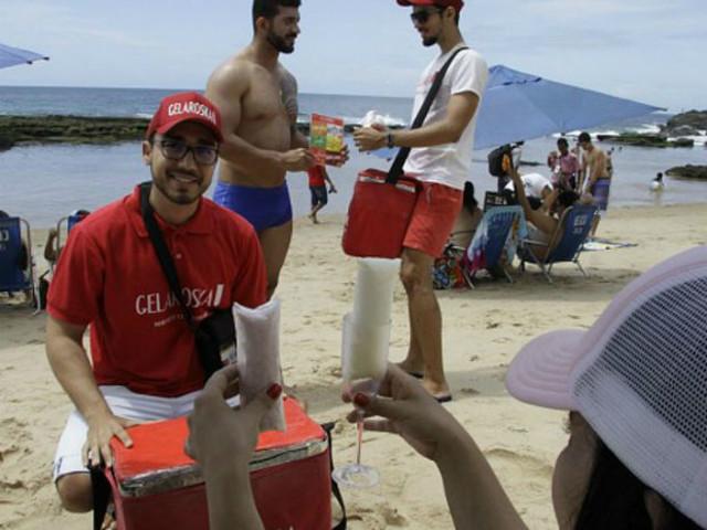 Estudante ganha R$ 900 no final de semana com geladinho de champagne
