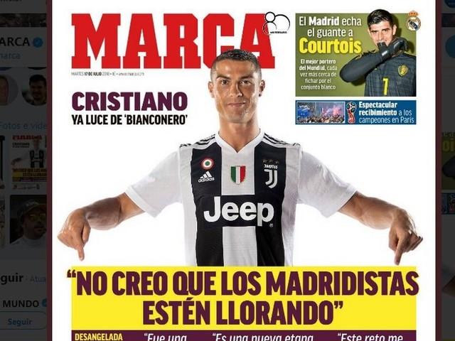 'Não creio que os madridistas estejam chorando', diz manchete espanhola