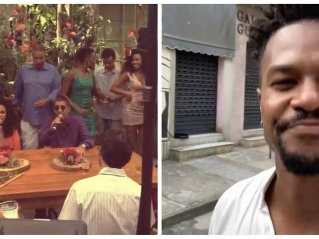 Em 'Bom sucesso', Zeca Pagodinho canta em casamento de Ramon