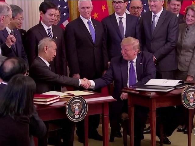 EUA e China assinam trégua após dois anos de guerra comercial