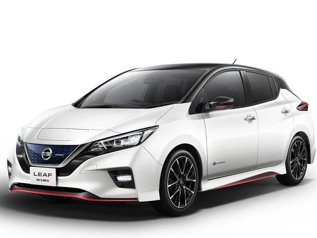 Nissan divulga fotos do LEAF Nismo