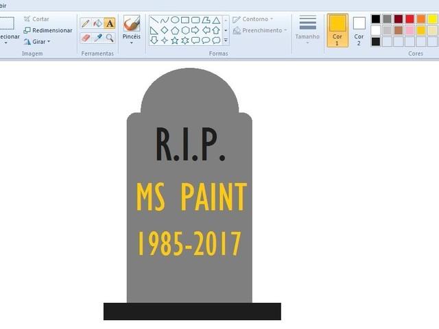 É hora de se preparar para dar adeus ao Microsoft Paint