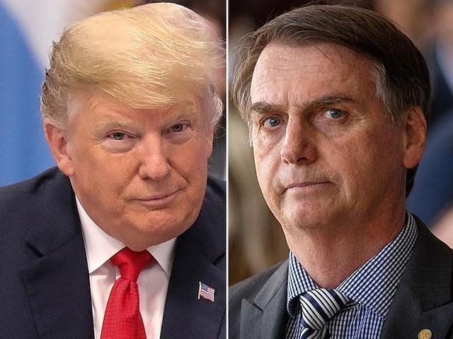 Brazil President Bolsonaro and U.S. President Trump to Meet on March 19th