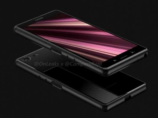 Renderizações vazadas mostram design do novo Sony Xperia XZ4 Compact