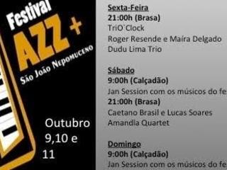 Dudu Lima e Amandla Quartet são atrações do festival Jazz+ que começa hoje em São João Nepomuceno-MG