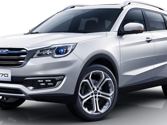 Jetur X70: novo SUV de grande porte da Chery - China
