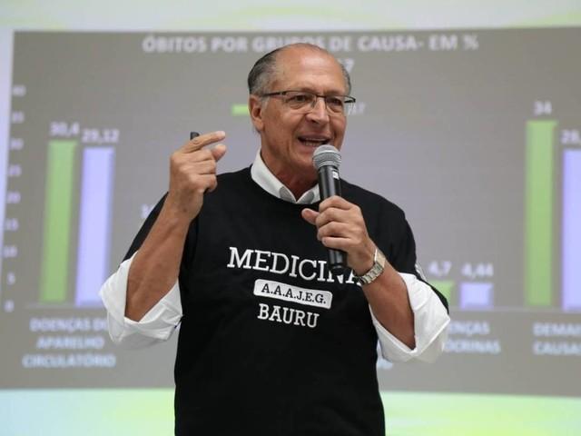 Ação por campanha de 2014 | Justiça manda bloquear bens de Alckmin em ação sobre verba da Odebrecht
