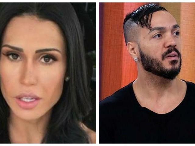 Gracyanne Barbosa é beijada na boca, Belo diz que não tem ciúmes e público não perdoa
