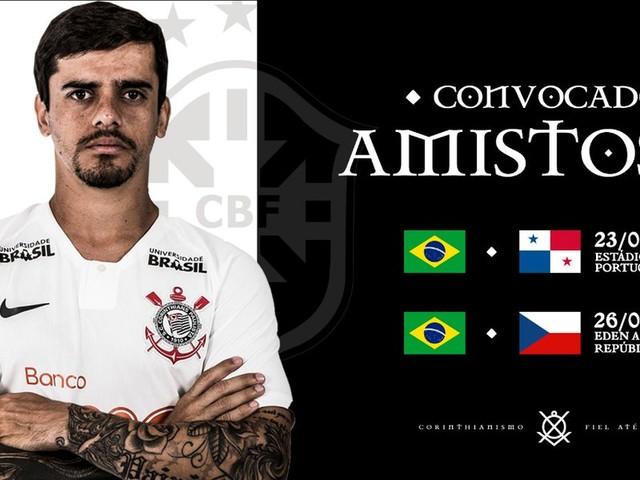 Re: Fagner é convocado pela Seleção e desfalca o Corinthians em decisões