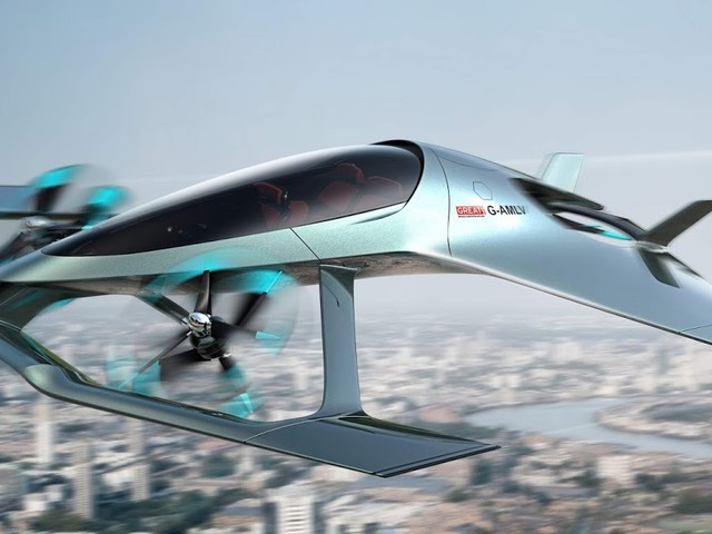 Aston Martin Volante Vision: drone de luxo para passageiros