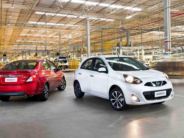 Nissan March e Versa chegam a 20 mil unidades exportadas