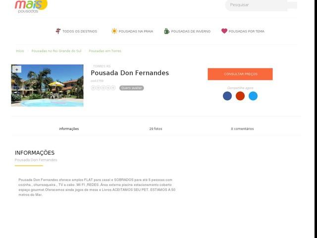 Pousada Don Fernandes - Torres - RS