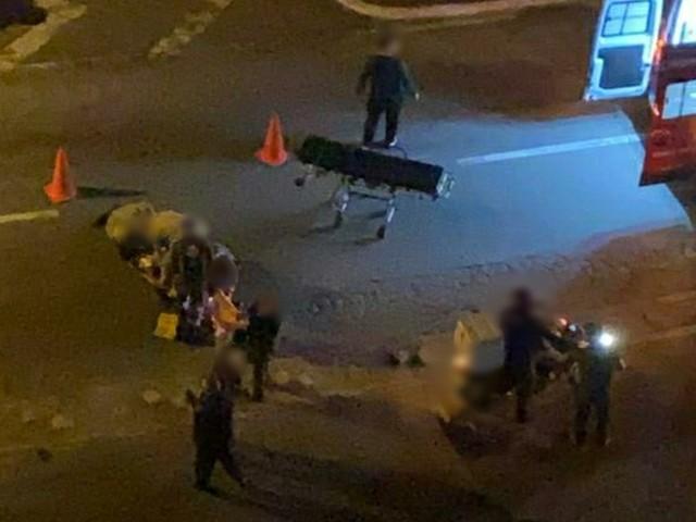 Homem é atropelado por carro em Volta Redonda
