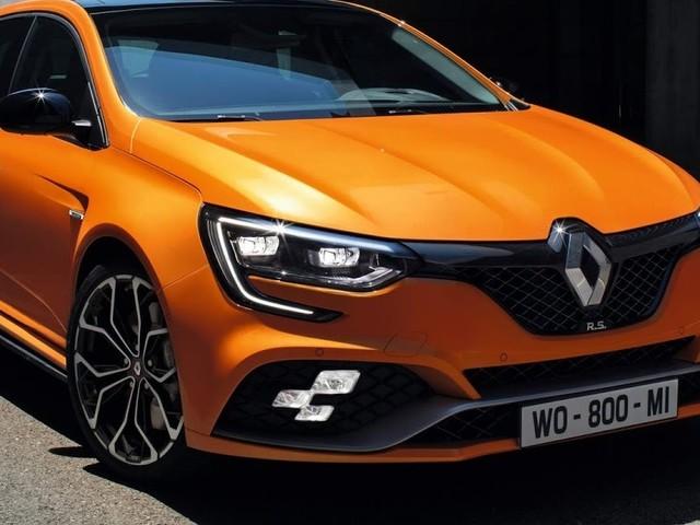 Novo Renault Mégane R.S. 2018: especificações oficiais