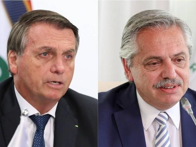 Alberto Fernández and Jair Bolsonaro Hold First Official Talk