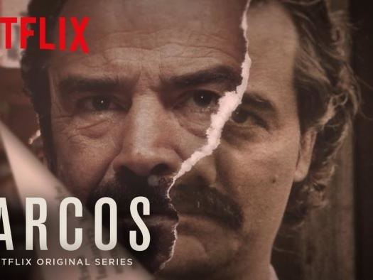 """Netflix divulga """"Narcos"""" em locais típicos onde se usava cocaína nos anos 1990"""