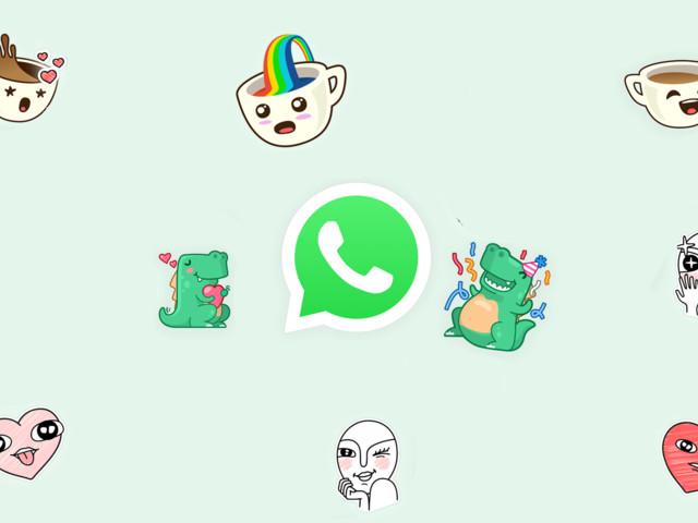 WhatsApp, doc? Stickers e marcas