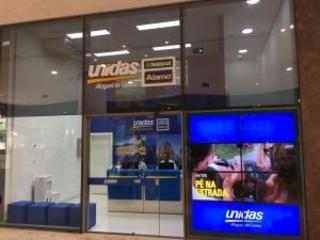 Unidas inaugura loja no Bossa Nova Mall, interligada ao Aeroporto Santos Dumont