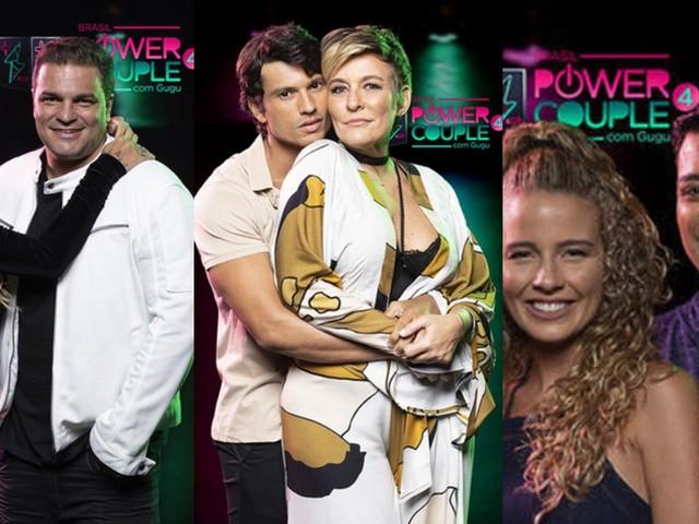 Power Couple Brasil: Marcelo Braga e Taty Zatto, Maikel Castro e Jackie Sampaio e Leandro Amieiro e Debby Lagranha estão na DR