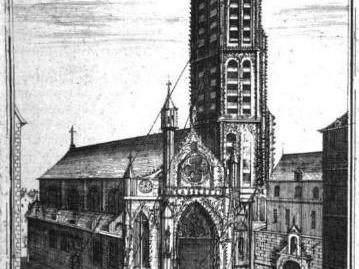 A Torre Saint Jacques, em Paris