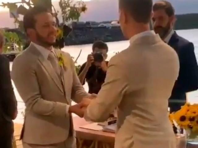 Enfim casados: Carlinhos Maia e Lucas Guimarães oficializaram união