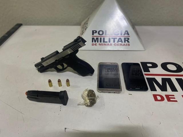 Três homens são presos em Uberlândia após perseguição policial com arma e carro roubado em 2019