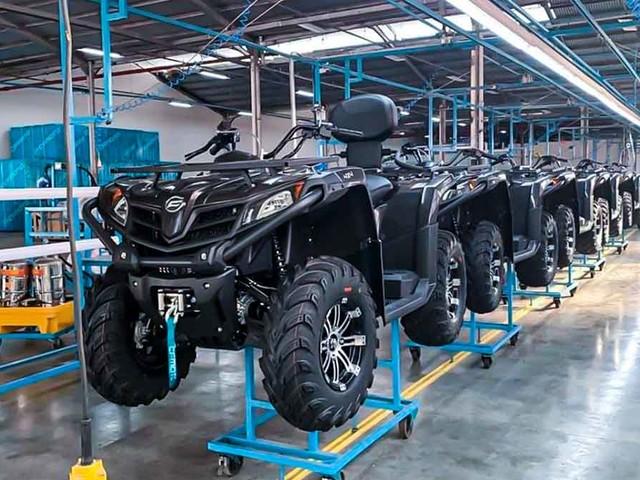 CF MOTO começa a montar quadriciclos offroad em Manaus