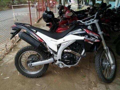 Vendo linda génesis 250 cc