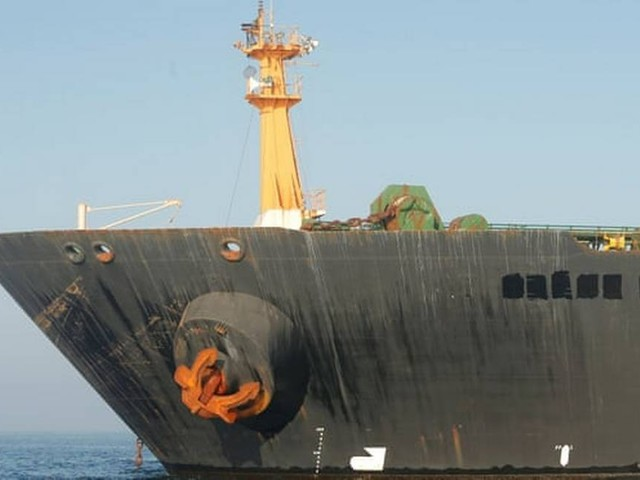 EUA emitem ordem para apreender petroleiro iraniano em disputa em Gibraltar
