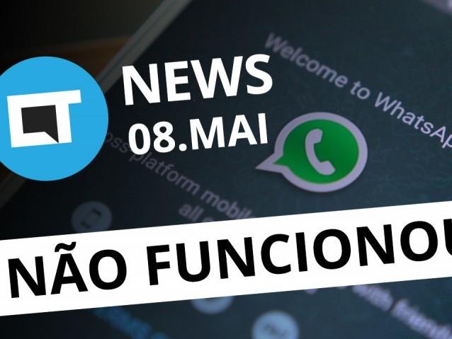 WhatsApp no iOS crackeado; selfie motoristas Uber; novos programas NASA [CTNews]