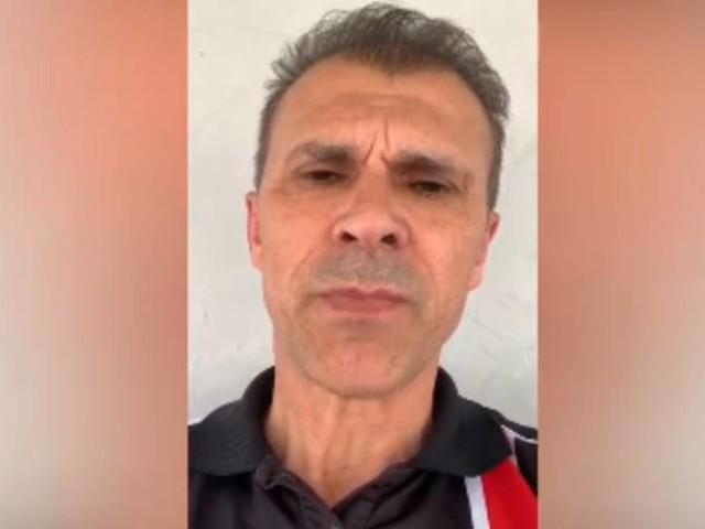 """Milton Mendes faz apelo à torcida do Santa Cruz: """"Não nos abandone"""""""