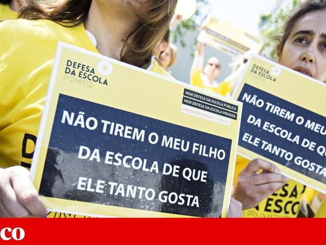 Número de colégios financiados pelo Estado volta a descer
