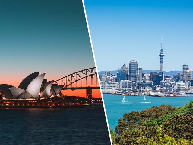 Passagens 2 em 1 para Austrália ou combinando Austrália e Nova Zelândia na mesma viagem a partir de R$ 3.128!