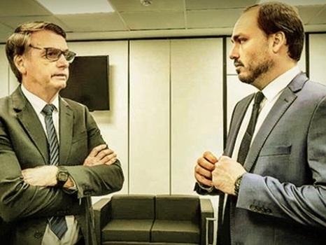Jair Bolsonaro contratou doadores de campanha do filho Carlos