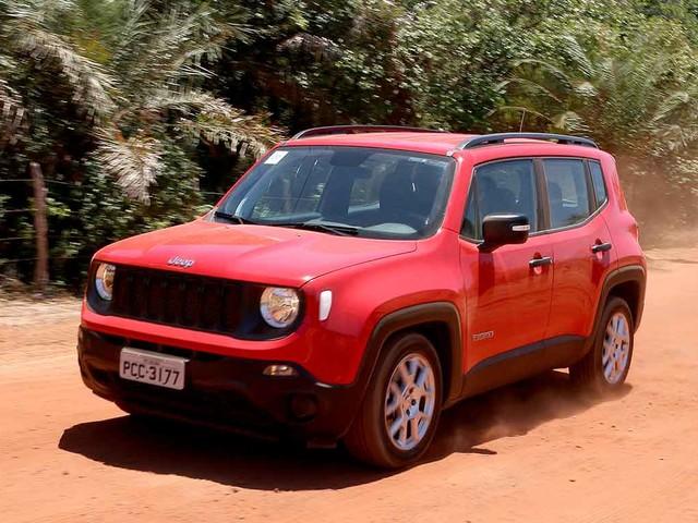 Mercado: Jeep Renegade e Compass ficam até R$ 4 mil mais caros