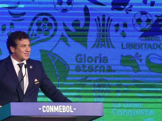 Presidente da Conmebol quer mais vendas na Copa América e cita possível solução para vagas no Mundial de Clubes