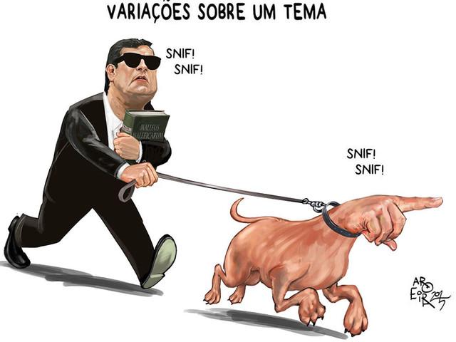 Justiceiro Moro tratou como verdade absoluta hipóteses sujeitas à comprovação e desprezou falta de ato de ofício