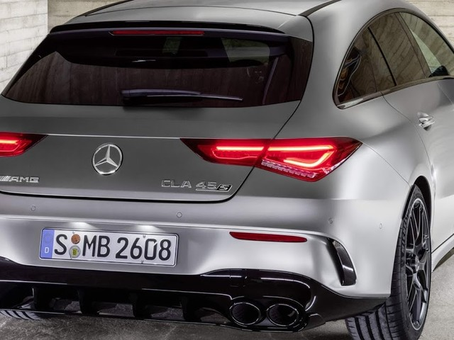 Mercedes-AMG CLA 45 Shooting Brake: perua com 421 cv